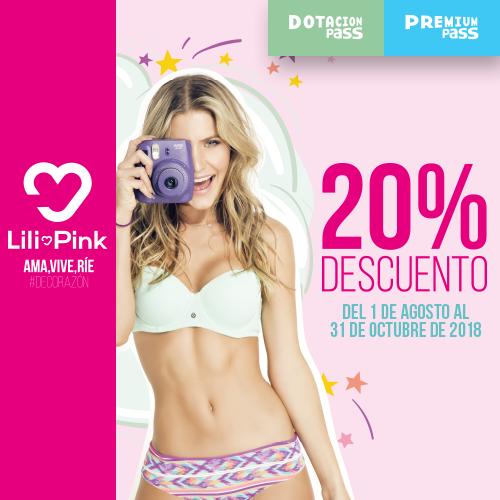 Lili Pink 20% Descuento